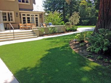 Artificial Grass Photos: Faux Grass Sheffield Lake, Ohio Paver Patio, Backyard Garden Ideas