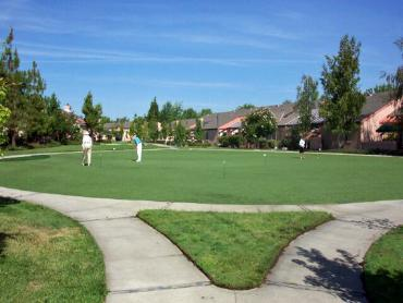 Artificial Grass Photos: How To Install Artificial Grass Golf Manor, Ohio Putting Green Carpet, Commercial Landscape