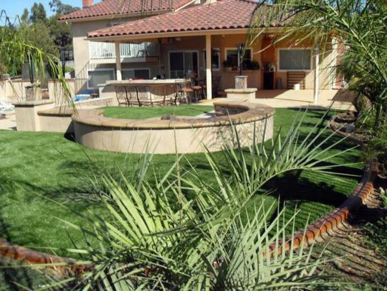 Artificial Grass Photos: Installing Artificial Grass New Holland, Ohio Paver Patio, Backyard Landscape Ideas