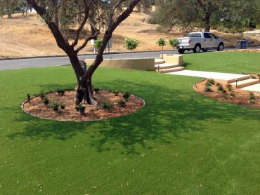Artificial Grass Photos: Lawn Services West Jefferson, Ohio Gardeners, Front Yard Landscaping