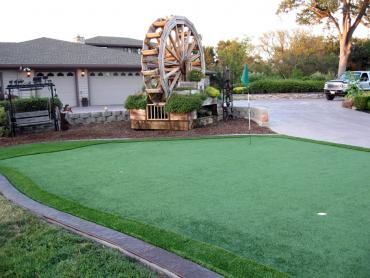 Artificial Grass Photos: Synthetic Turf Shadyside, Ohio Putting Green, Small Front Yard Landscaping